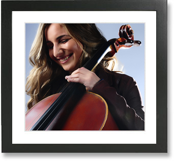 Kirsten, classical solo cellist for Sound Generation