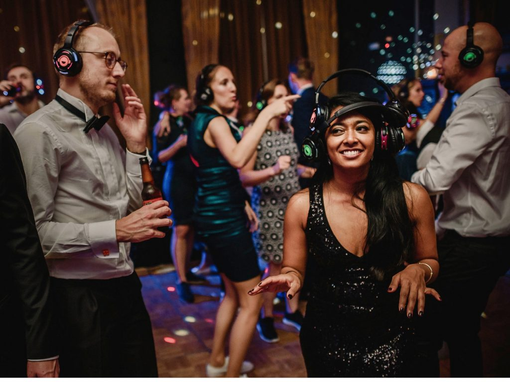 Guide To Booking Music For Your Wedding - A Silent Disco