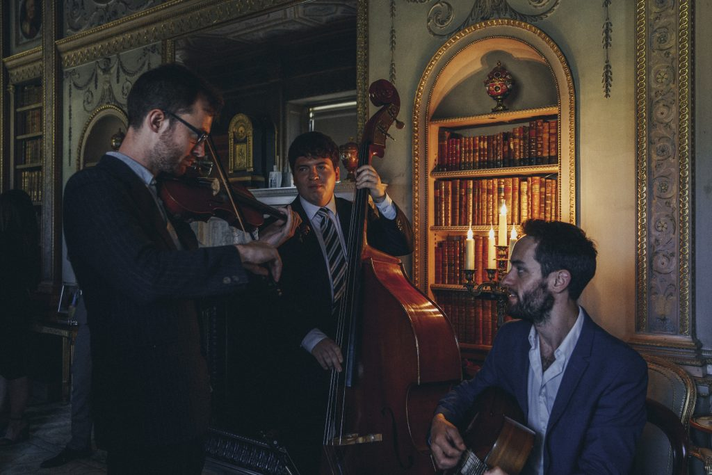 Guide To Booking Music For Your Wedding - A Gypsy Jazz Band
