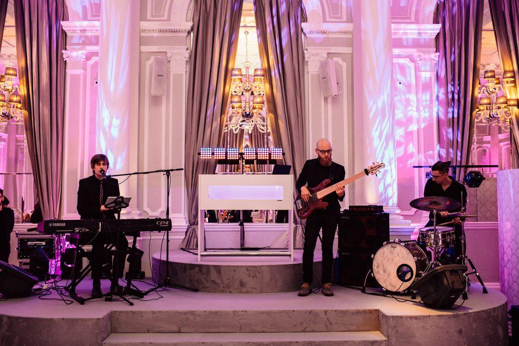music entertainment for weddings at corinthia london